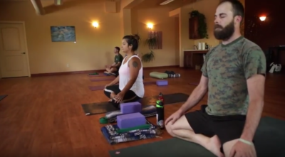 Heroes Meditate and do Yoga